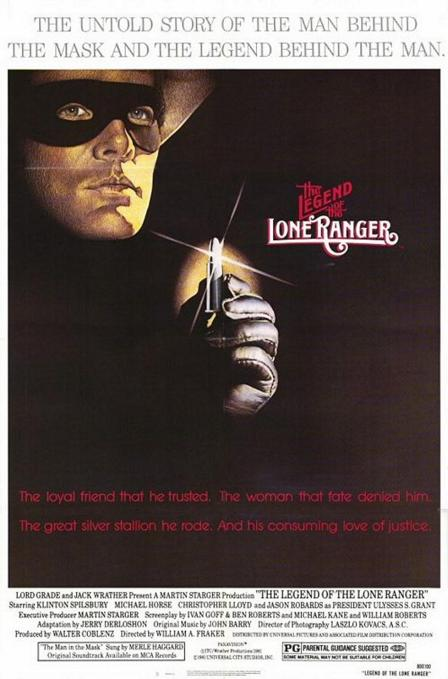 The Legend of The Lone Ranger - Poster 1