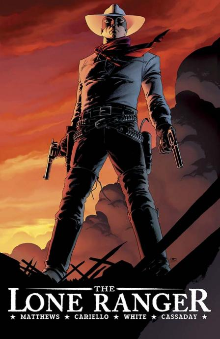 The Lone Ranger - BD - Cover 1