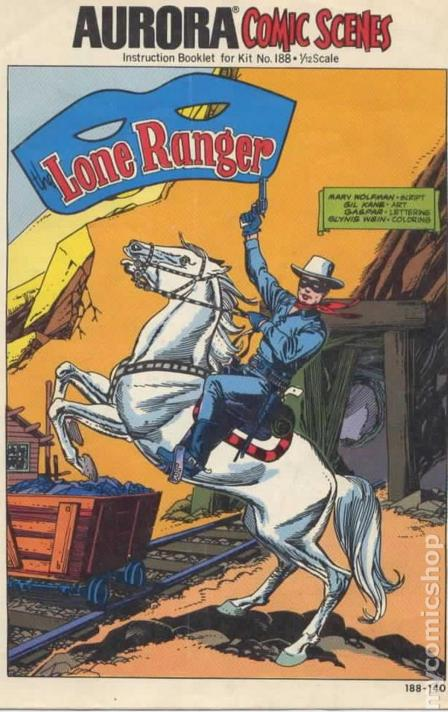 The Lone Ranger - BD - Cover 3
