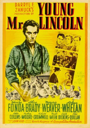 Young Mr. Lincoln - Poster