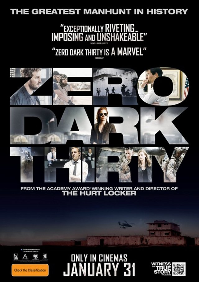 Zero Dark Thirty - - Poster 2