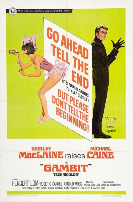 Gambit - 1966 - Poster 1