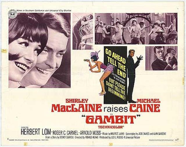 Gambit - 1966 - Poster 2
