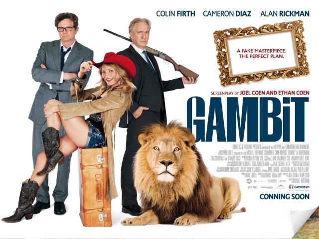 Gambit - 2012 - Poster 5