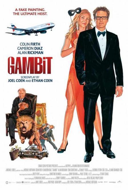 Gambit - 2012 - Poster 6