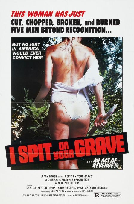 I Spit on Your Grave - 1978 - Poster 1