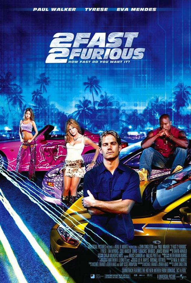 2 Fast 2 Furious - Poster 1