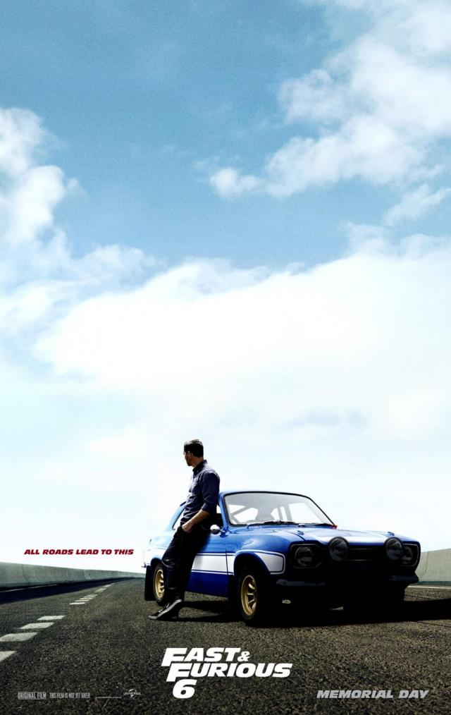 Fast & Furious 6 - Poster 2