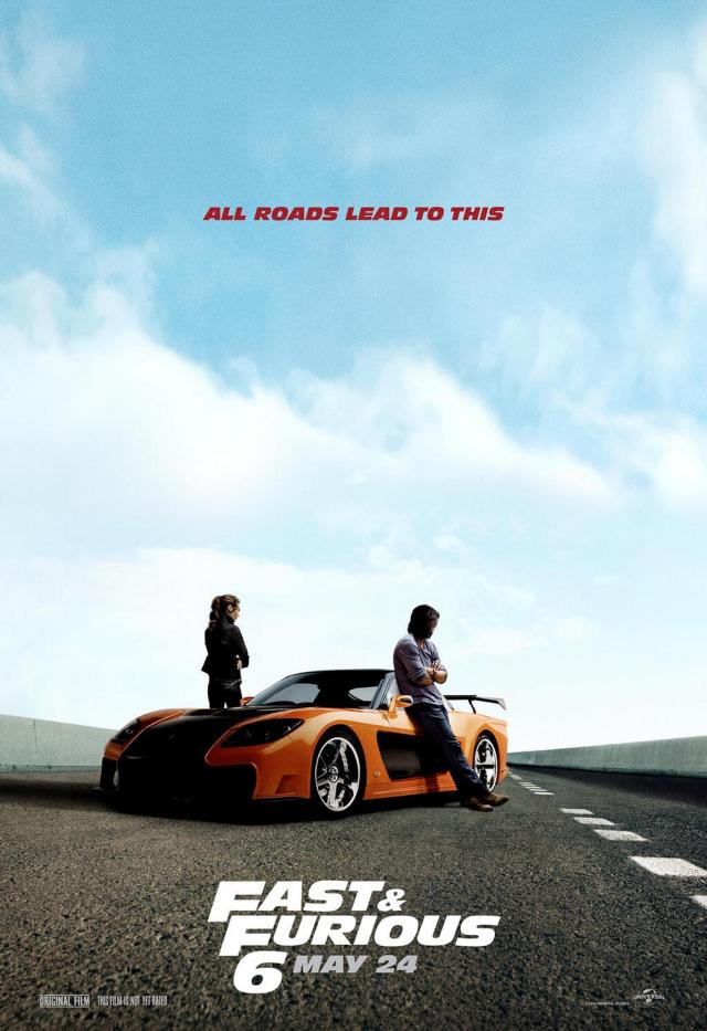 Fast & Furious 6 - Poster 3