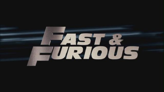Fast & Furious - Logo