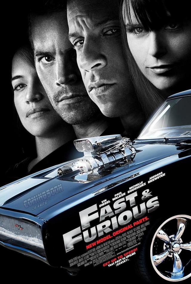 Fast & Furious - Poster 1