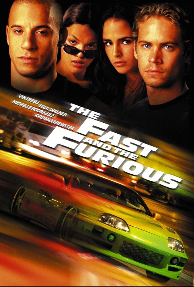 The Fast and The Furious - Poster 2