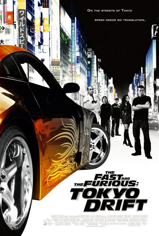 The Fast and The Furious - Tokyo Drift - Poster 2