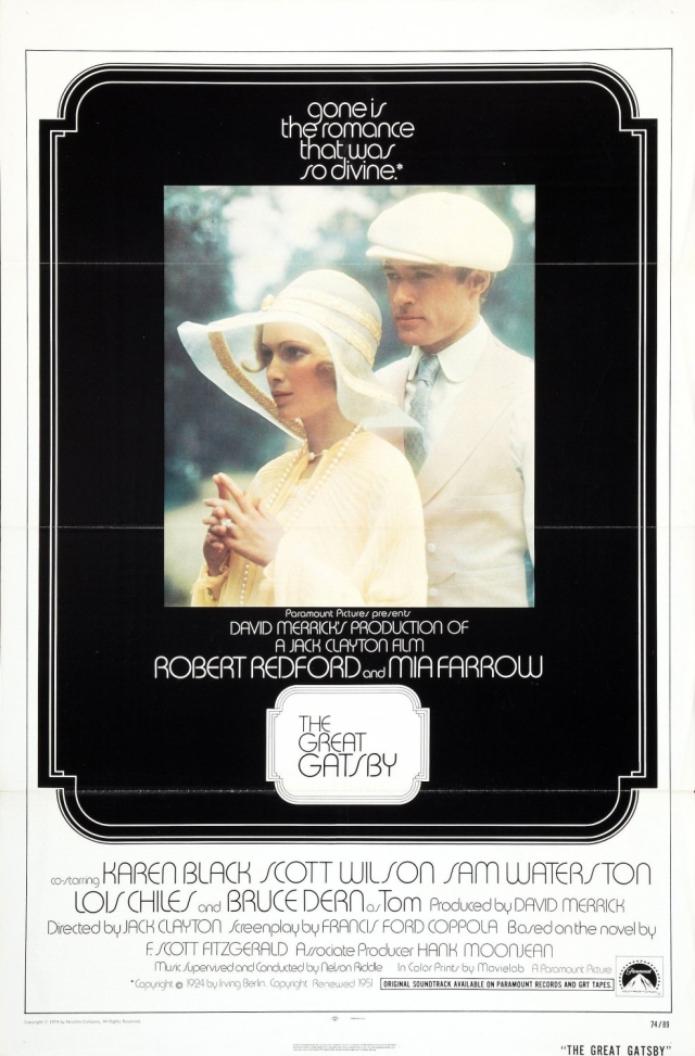 The Great Gatsby - 1974 - Poster 1