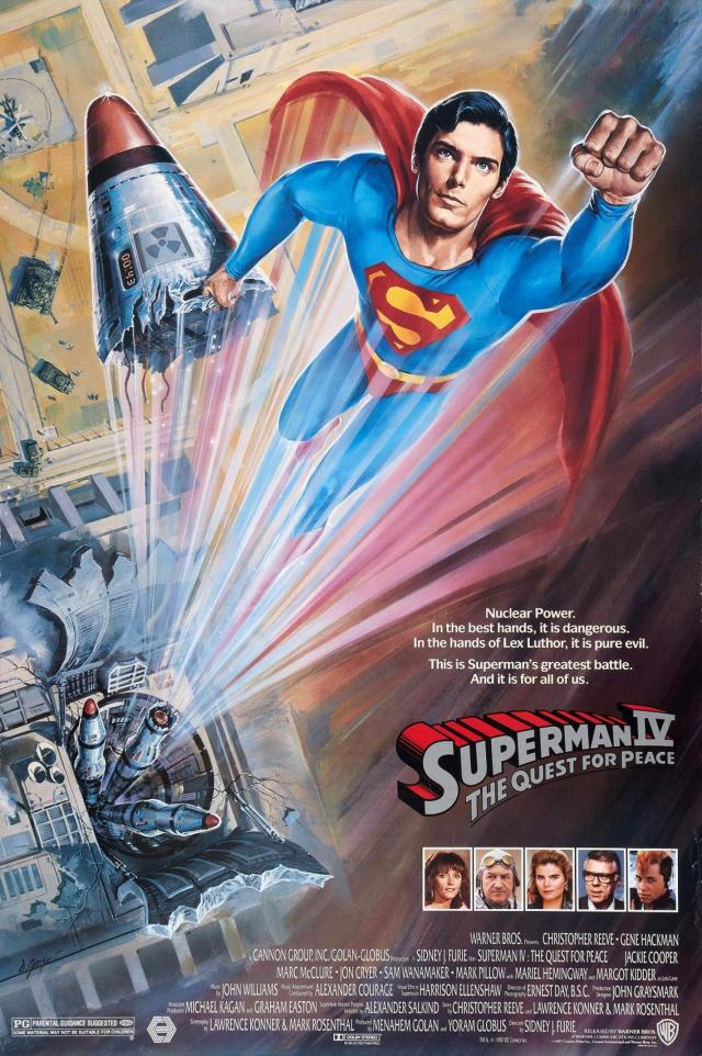 Superman IV - Poster 1