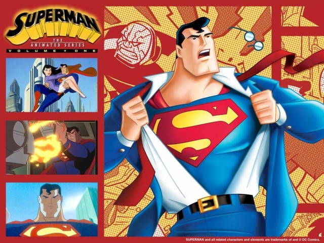 Superman - The Animated Series - Poster 1