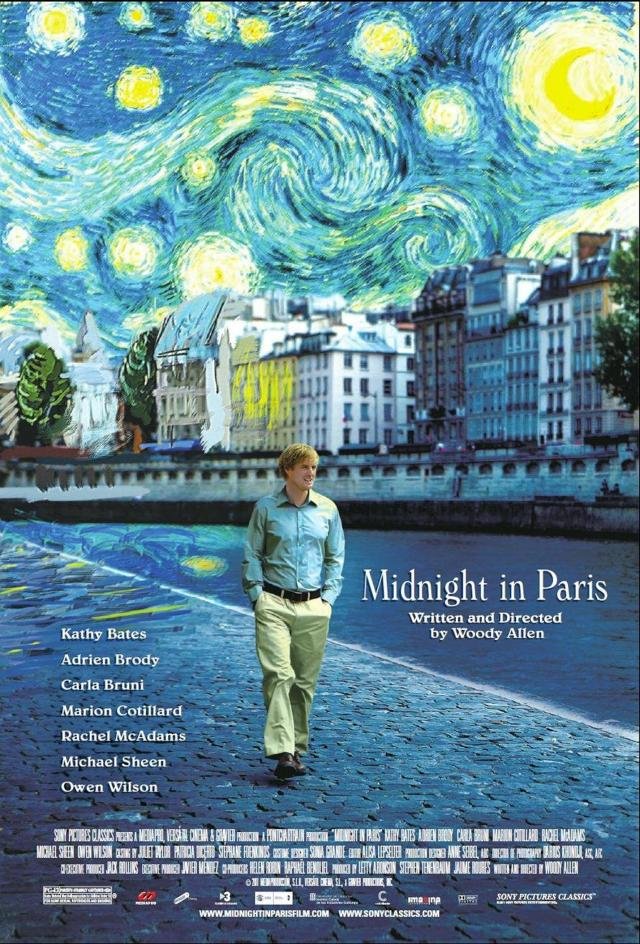 Midnight in Paris – Meia-Noite em Paris (2011)