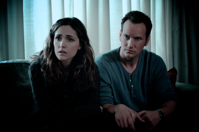 (From left to right)ROSE BYRNE as Renai and PATRICK WILSON as Josh star in INSIDIOUS released on 6th May 2011.