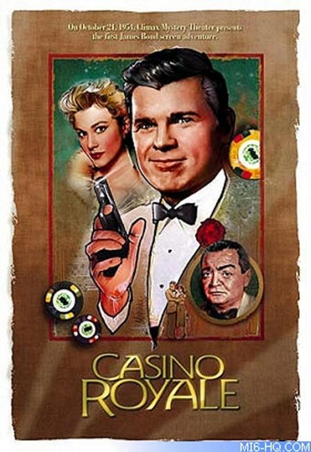 Casino Royale - 1954 - Poster 2