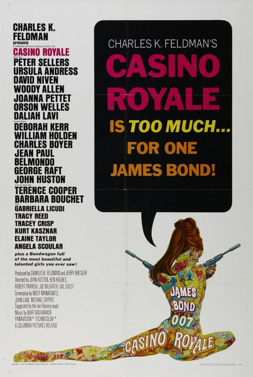 Casino Royale - 1967 - Poster 1