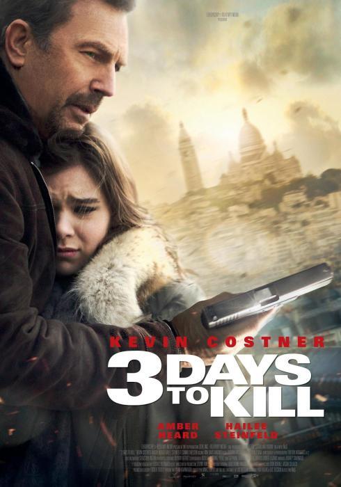 3 Dias Para Matar - Poster 2