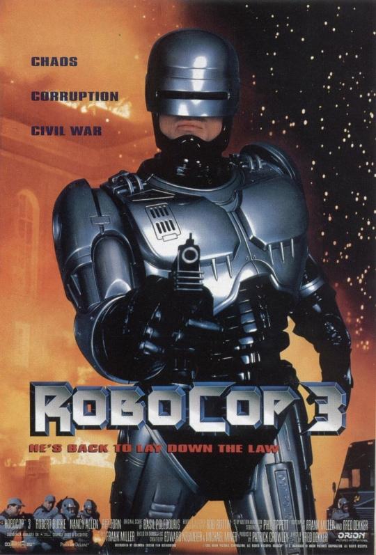RoboCop 3 - Poster 1