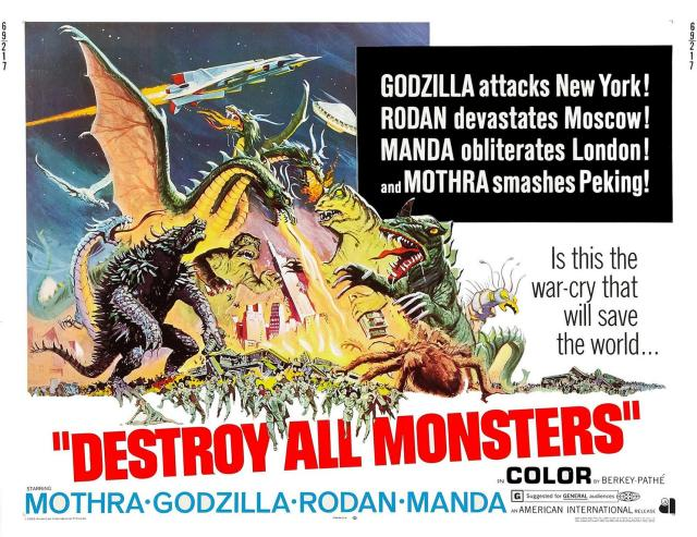 Destroy All Monsters - Poster 1