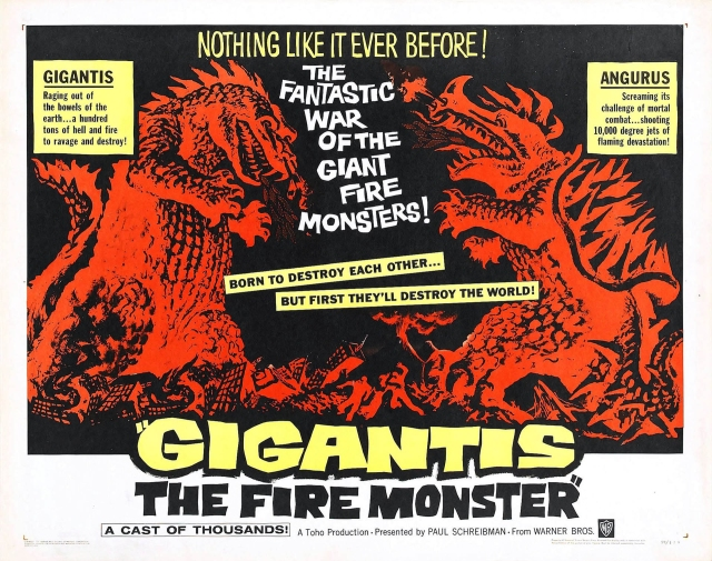Gigantis - The Fire Monster - Poster 1