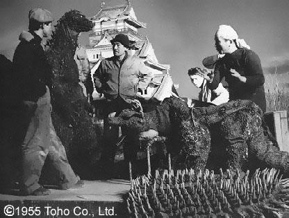 Godzilla - 1954 - Suit Backstage - Image 1