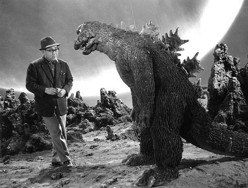 Godzilla - 1954 - Suit Backstage - Image 2