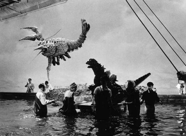 Godzilla vs The Sea Monster - Backstage 1