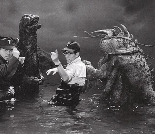 Godzilla vs The Sea Monster - Backstage 2