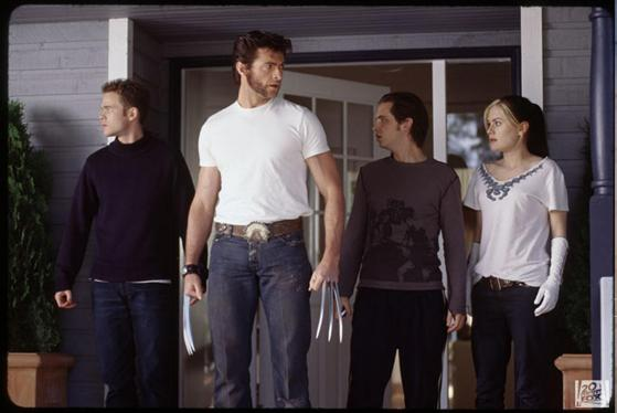 X-Men 2 - Wolverine, Rogue, Iceman e Pyro