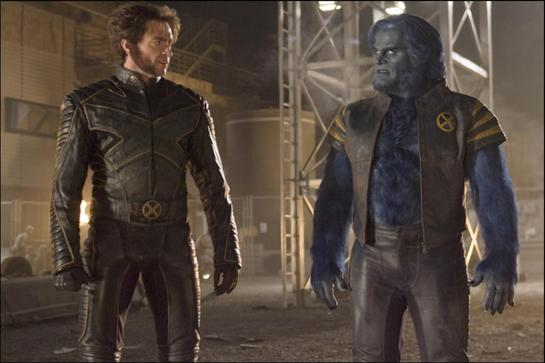 X-Men 3 - Wolverine e Beast