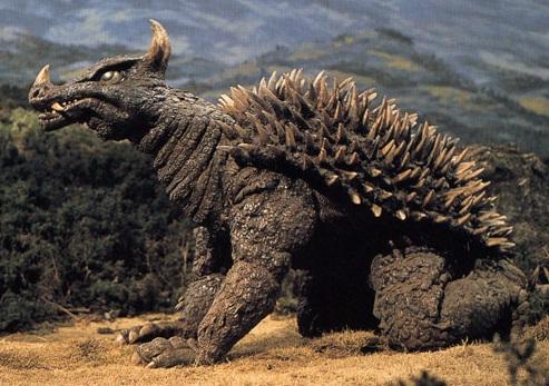 Godzilla vs Gigan - Anguirus
