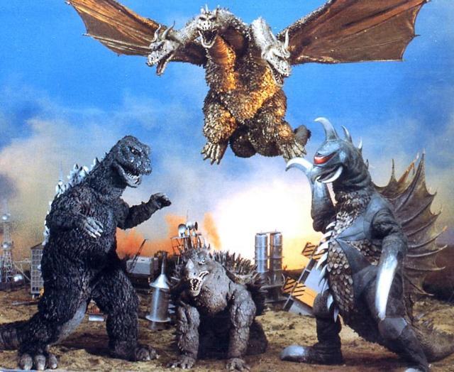 Godzilla vs Gigan - Poster 3