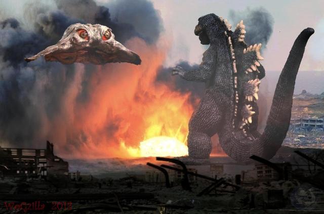 Godzilla vs Hedorah - 2