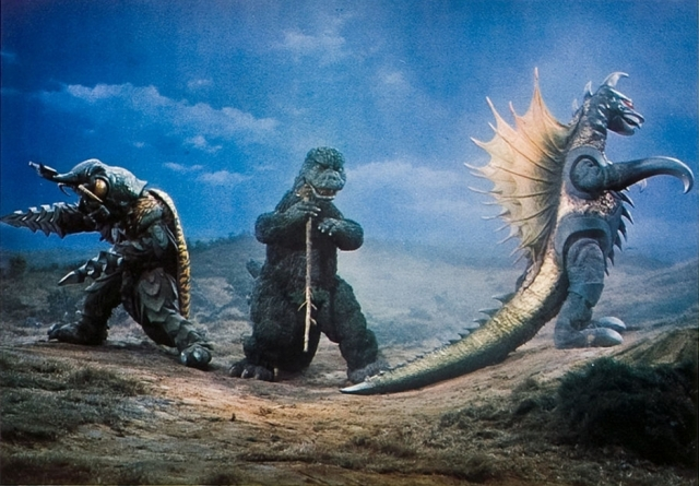 Godzilla vs Megalon - 2