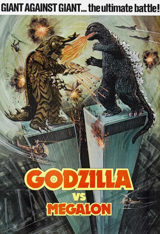 Godzilla vs Megalon - Poster 3