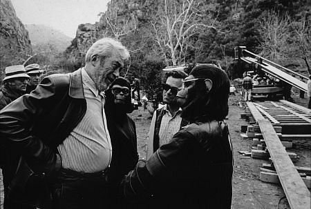 Battle for the Planet of the Apes - backstage 1