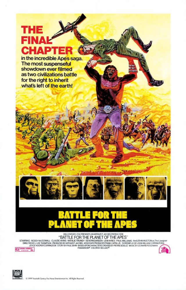 Battle for the Planet of the Apes - Poster 1