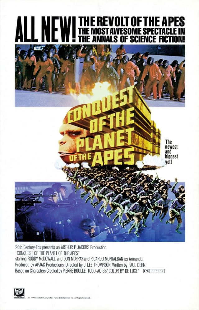 Conquest of the Planet of the Apes - Poster 1