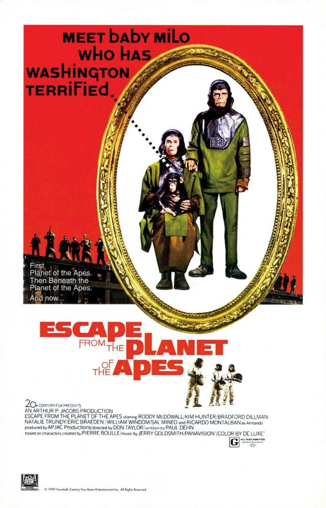 Escape fom the Planet of the Apes - Poster 1