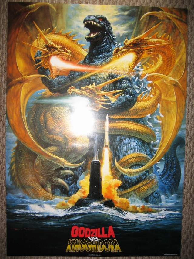 Godzilla vs King Ghidorah - Poster 1