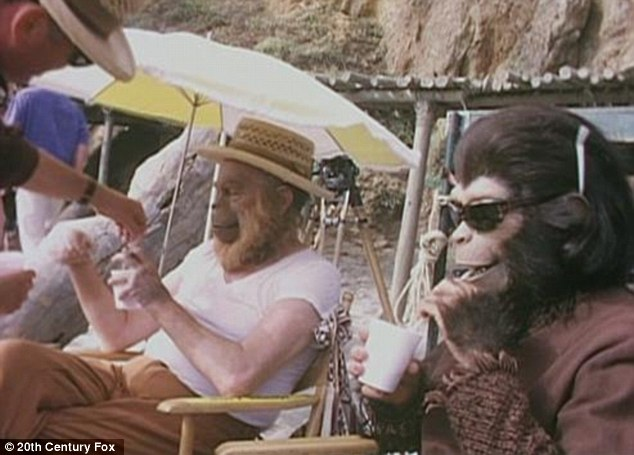 Planet of the Apes - backstage 1