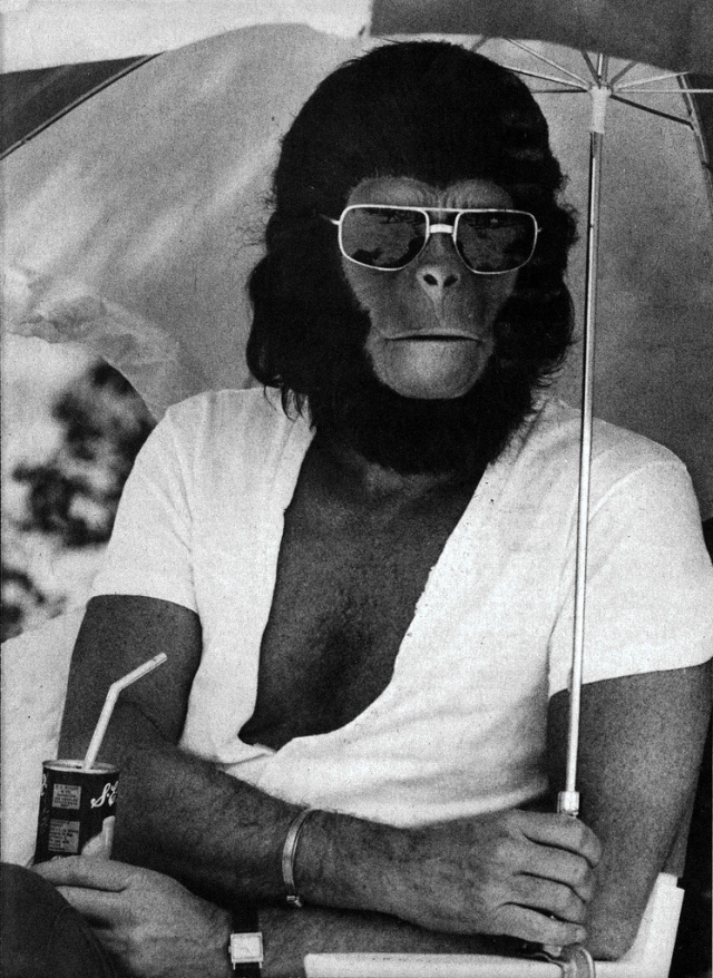 Planet of the Apes - backstage 2