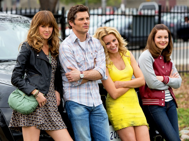 Elizabeth Banks, James Marsden, Gillian Jacobs, Sarah Wright - Walk of Shame - screenshot 1