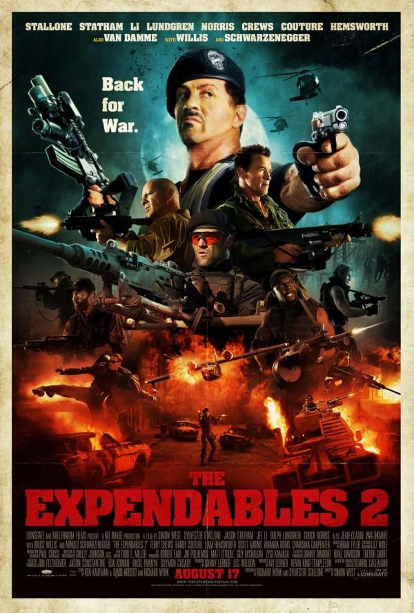Os Mercenários 2 - Poster 17