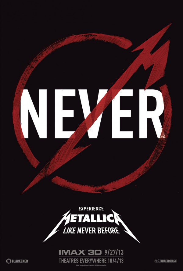 Metallica Through the Never - Poster1