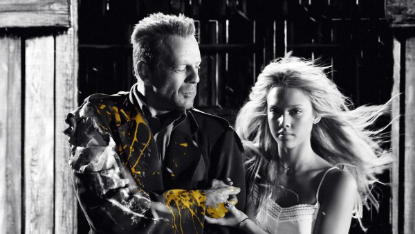 Sin City - Bruce Wilis e Jessica Alba - screenshot 1